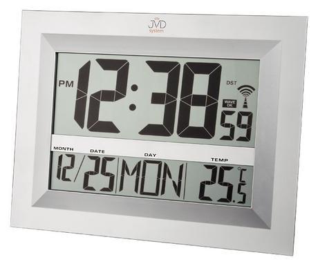 Digitalne hodiny Rádiom riadené JVD RH1808 45cm,