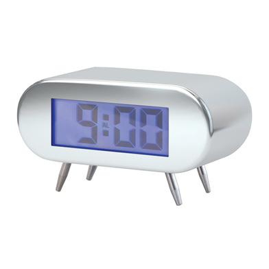 Digitálny budík BALVI BipBip, chróm 12cm,