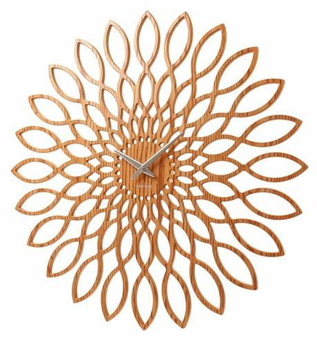 Dizajnové hodiny Slnečnica 60cm,