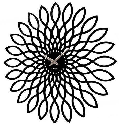Dizajnové hodiny Slnečnica Karlsson 40cm,