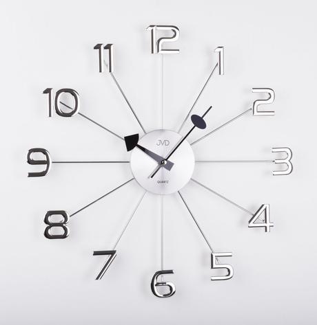 Dizajnové nástenné hodiny JVD JVD HT072, 49cm,