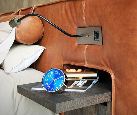 Dizajnový budík 5439BL Karlsson 10cm,