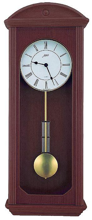 Drevené nástenné hodiny ASSO A19/325/3, 61cm,