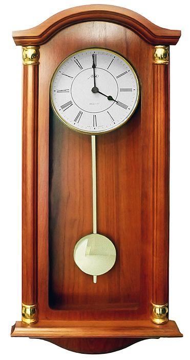 Drevené nástenné hodiny ASSO A19/346/2, 59cm,