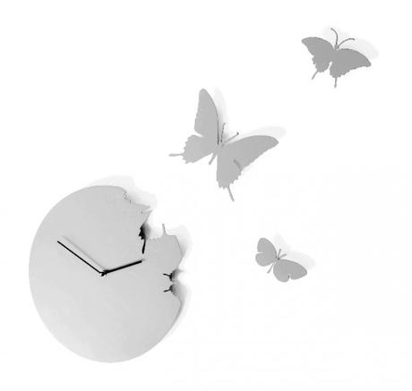 Hodiny Diamantini & Domeniconi Butterfly 40cm,
