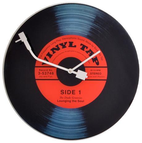 Hodiny Nextime Vinyl Tap 43cm,
