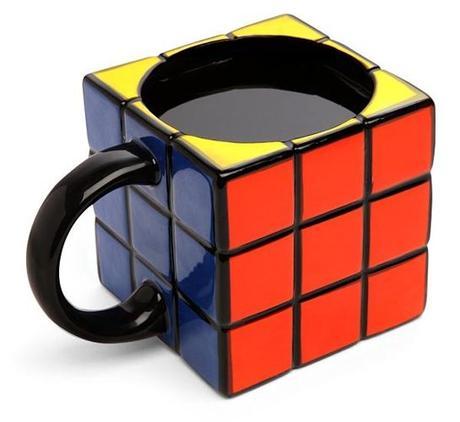 Hrnček Rubikova kocka,