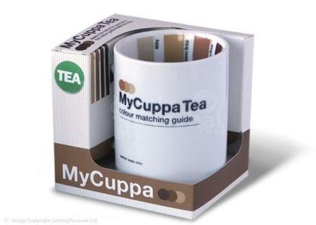 Hrnček so vzorkovníkom - čaj,