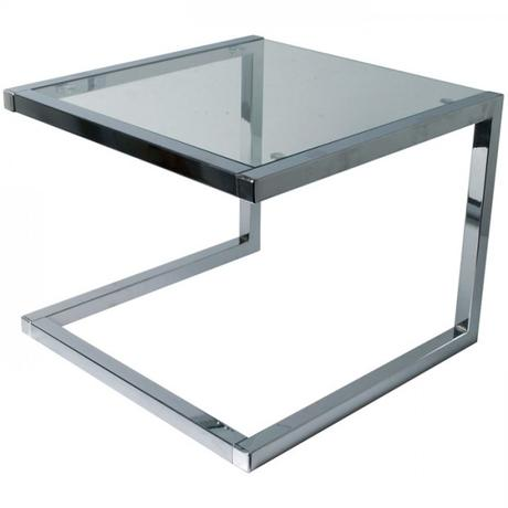 Konferenčný sklenený dizajnový stolík ,