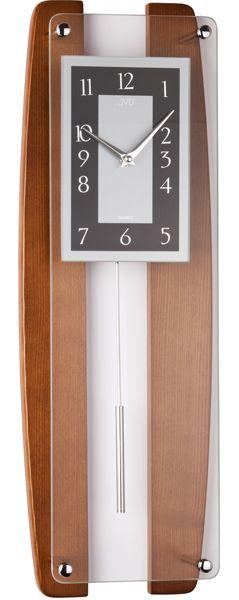 Kyvadlové hodiny JVD quartz N12033.11 59cm,
