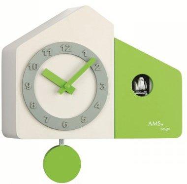 Kyvadlové kukučkové hodiny 7395 AMS 23cm,