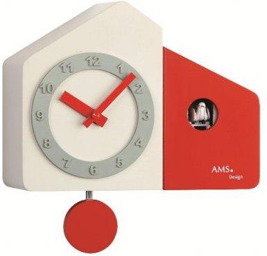 Kyvadlové kukučkové hodiny 7396 AMS 23cm,