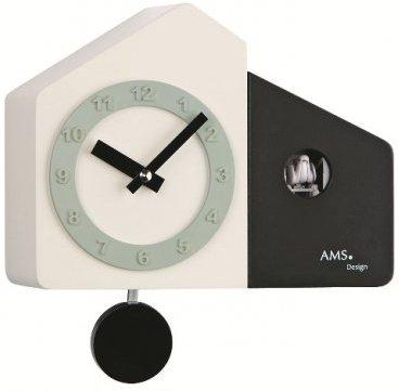 Kyvadlové kukučkové hodiny 7397 AMS 23cm,