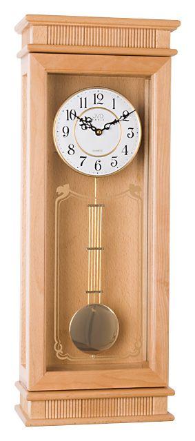 Kyvadlové nástenné hodiny JVD basic 61/68 66cm,