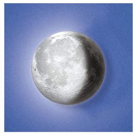 Lampa mesiac,