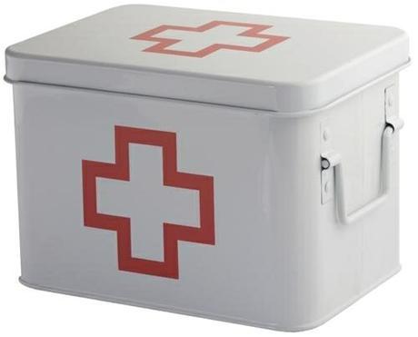 Lekárnička s priehradkami Balvi Červený kríž,