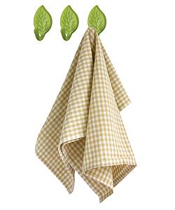 Lepiace háčiky na utierky BALVI Falling Leaves 3ks,