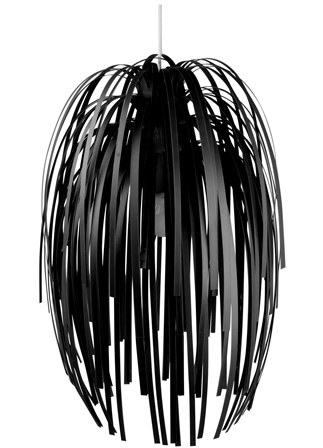Luster Silly čierny, 61cm,