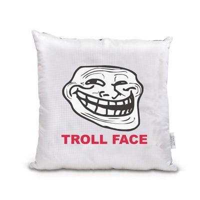 Meme vankúšik Troll Face,