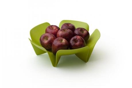 Misa na ovocie Qualy Flower Fruit Tray, malá, zele,