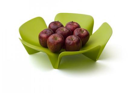 Misa na ovocie Qualy Flower Fruit Tray, veľká, zel,