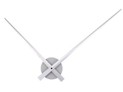 Moderné nástenné hodiny značky Karlsson s aluminio,