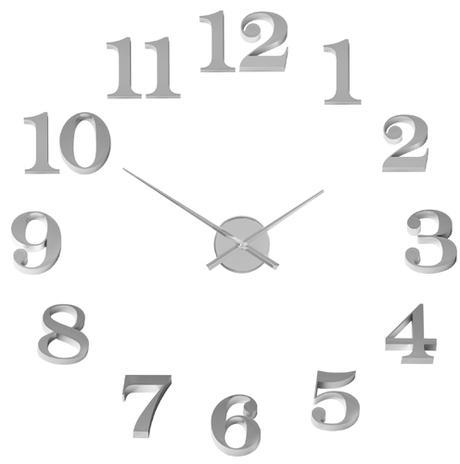 Nalepovacie nástenné hodiny Balvi Grand 70cm,