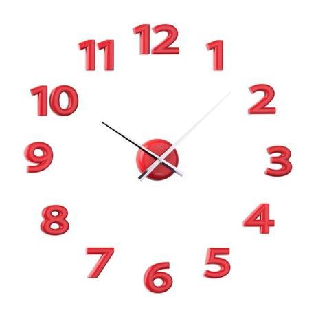 Nalepovacie nástenné hodiny JVD HB12.3,