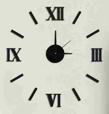 Nalepovacie nástenné hodiny, MPM 3511/Rim bk, 50cm,