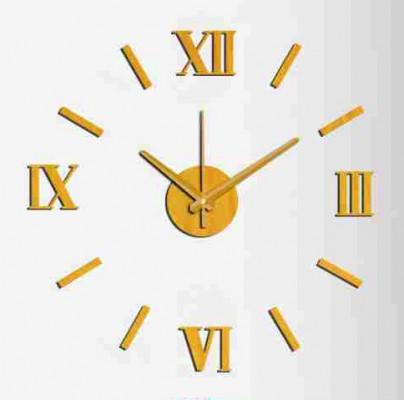 Nalepovacie nástenné hodiny, MPM 3513/Rim Or, 60cm,