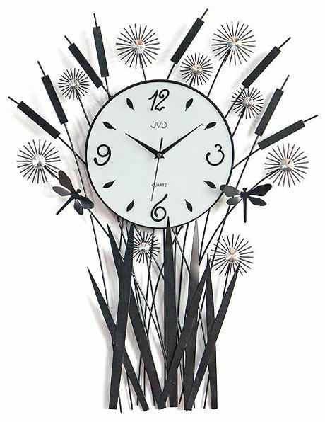 Nástenné designové hodiny HJ28 71x52cm,