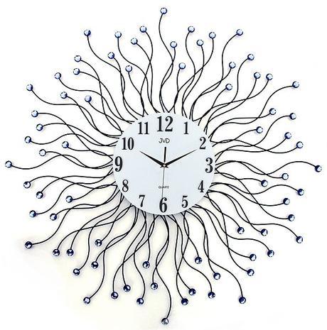 Nástenné designové hodiny JVD HJ19.1 Sun 78 cm,