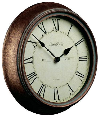Nástenné exteriérové hodiny Retro, 36 cm,