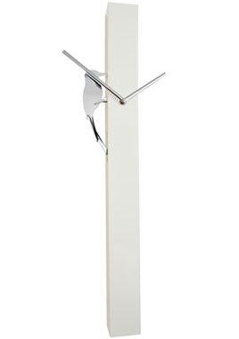 Nástenné hodiny 24595 Balvi Woodpecker white 65cm,
