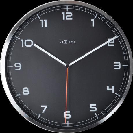 Nástenné hodiny 3080zw Nextime Company number 35cm,
