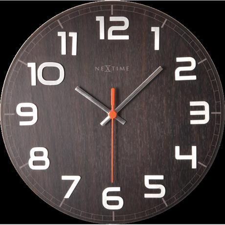 Nástenné hodiny 3082br  Nextime Classy round 30cm,