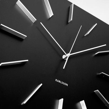 Nástenné hodiny 5270BK Karlsson 40cm,