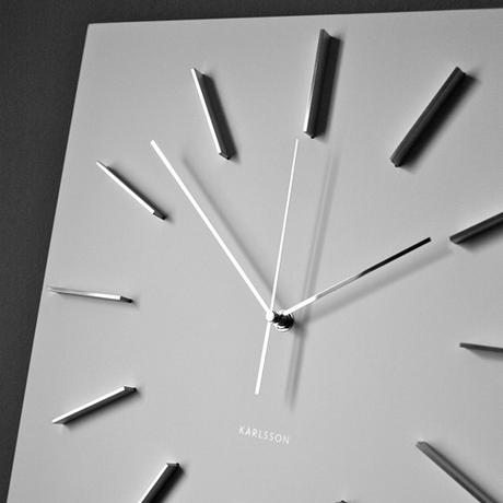 Nástenné hodiny 5270WH Karlsson 40cm,