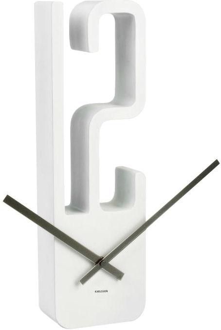 Nástenné hodiny 5318WH Karlsson 39cm,
