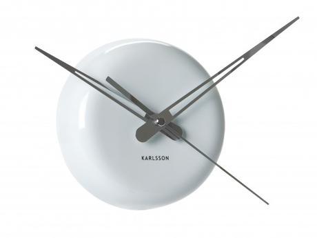 Nástenné hodiny 5452WH Karlsson 14cm,