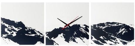Nástenné hodiny 5483 Karlsson Alpy,