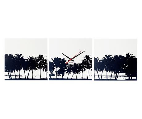 Nástenné hodiny 5484 Karlsson Pláž 3 x35cm,
