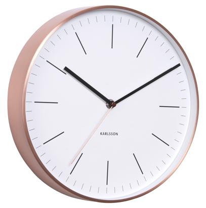 Nástenné hodiny 5507WH Karlsson 28cm,