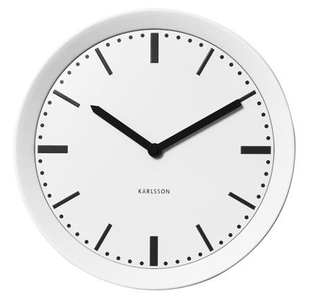 Nástenne hodiny 5512wh Karlsson 28cm,