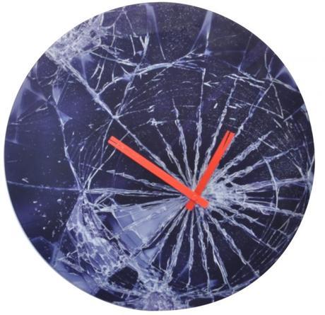 Nástenné hodiny 8147 Nextime Crash 43cm,