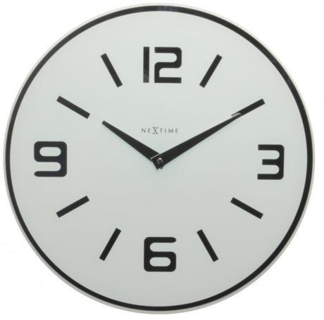 Nástenné hodiny 8148wi Nextime Shuwan 43cm,