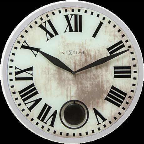 Nástenné hodiny 8162 Nextime Romana 43cm,