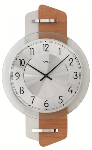 Nástenné hodiny 9406 AMS 38cm,