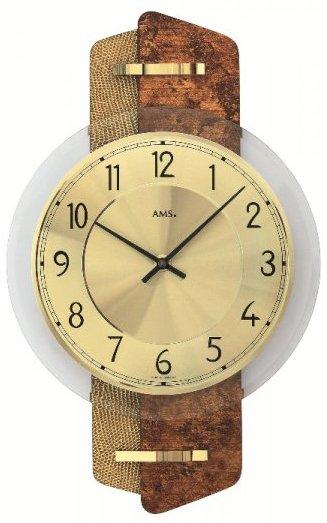 Nástenné hodiny 9409 AMS 38cm,
