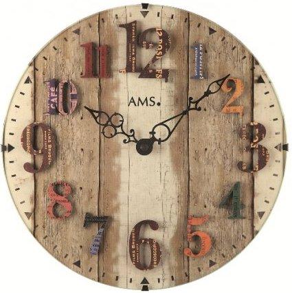 Nástenné hodiny 9423 AMS 30cm,